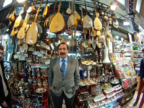Hoca in the Grand Bazaar